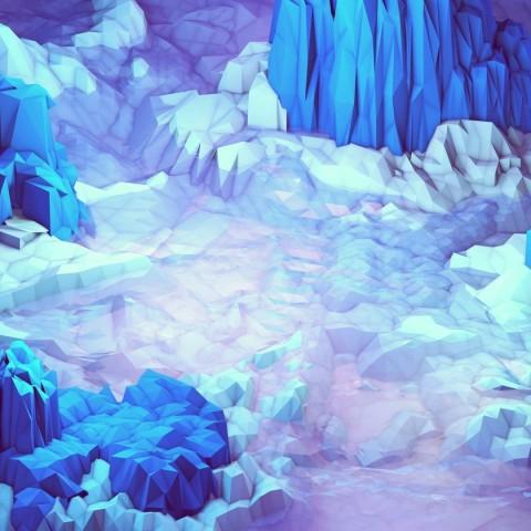 timothy_j_digital_art_low_poly_mountains_1920x1080_67743